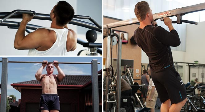 Подтягивание узким хватом — какие мышцы при этом работают?