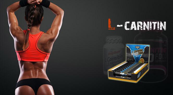 L-карнитин в спортивном питании — всё, что нужно об этом знать